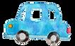 水彩青い車.png