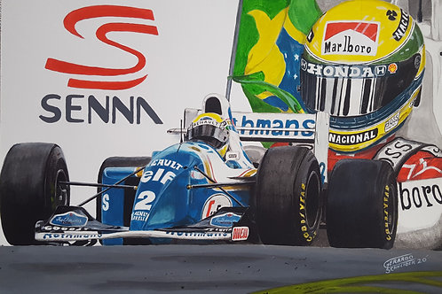 Ayrton Senna Inmortal