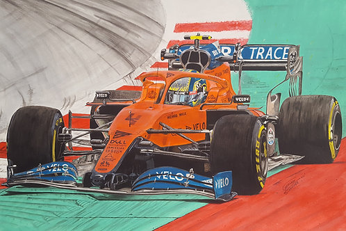 """Last fast lap""""Lando Norris GP Austria 2020"""