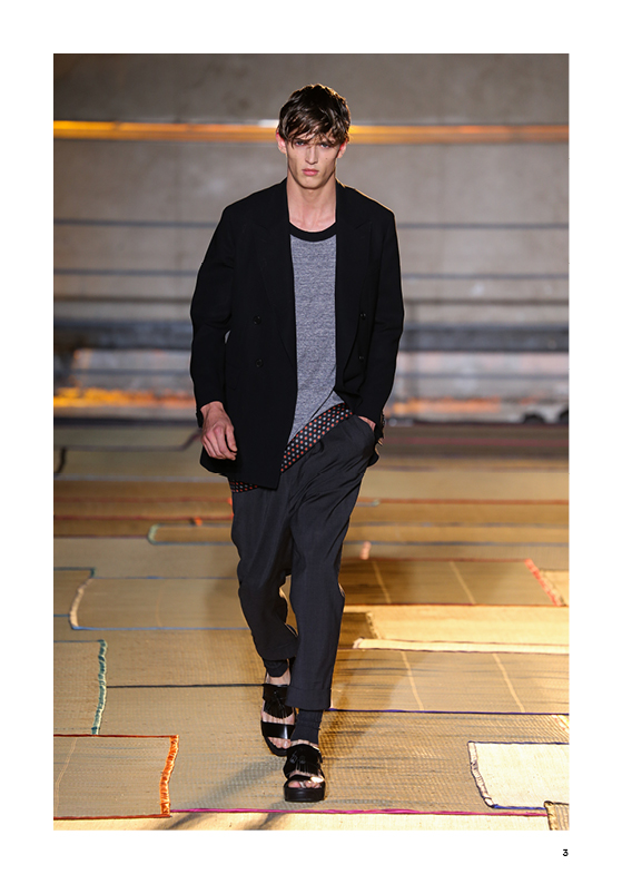 LOOK BOOK CERRUTI 1881 PARIS SS15