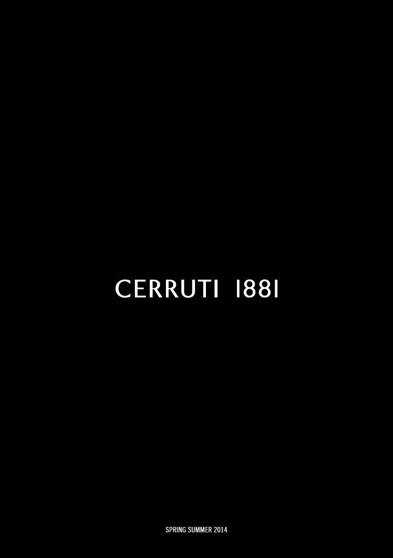 LOOK BOOK CERRUTI 1881 SS14