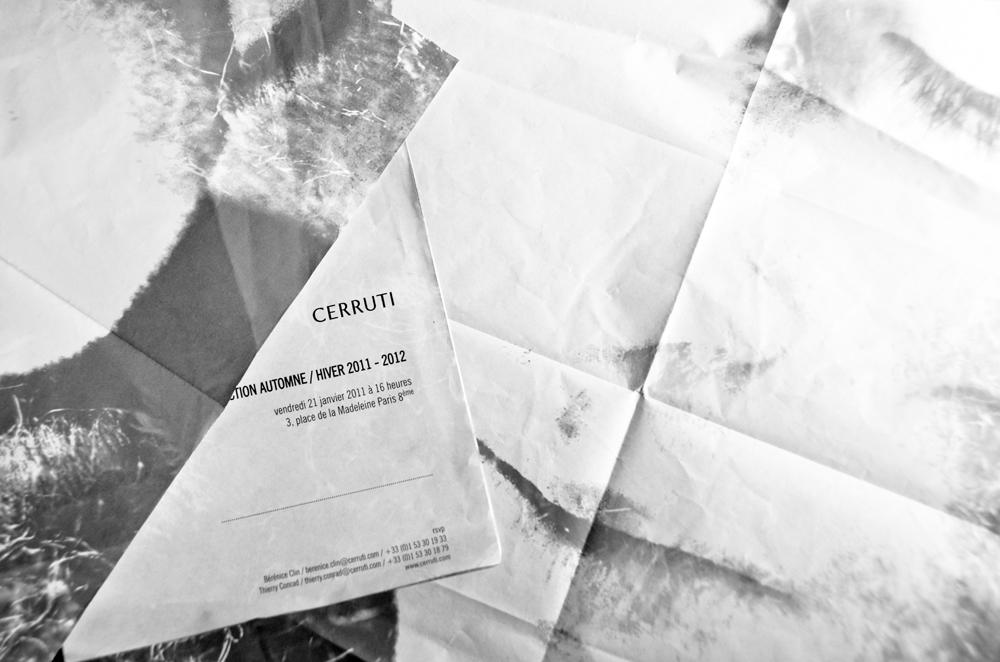 CERRUTI SHOW FW1112