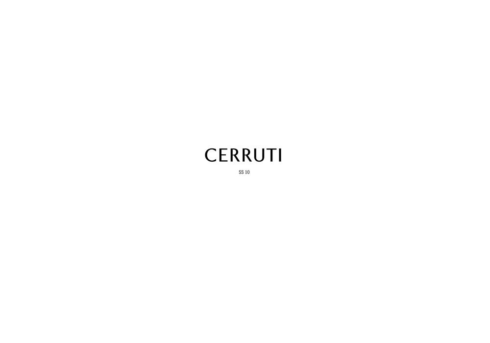 LOOK BOOK CERRUTI WOMEN'S SS10