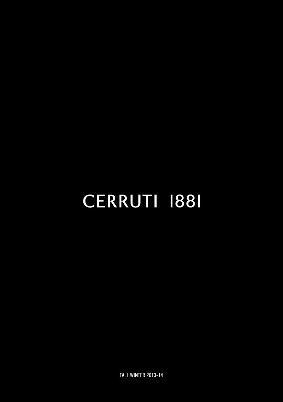LOOK BOOK CERRUTI 1881 FW1314