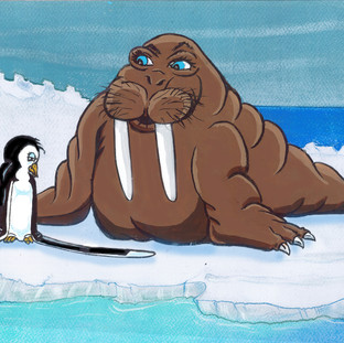 A wise old walrus helps Awk accept his differences.