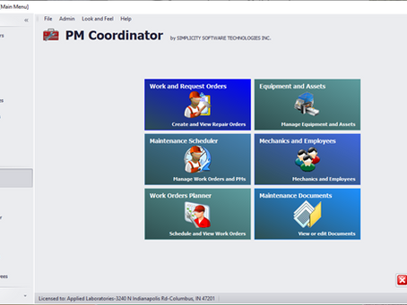 PM Coordinator CMMS for the Small Business