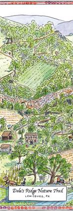Dale's Ridge Nature Trail Map