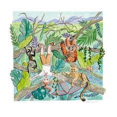 Nursery Triptych: Rainforest
