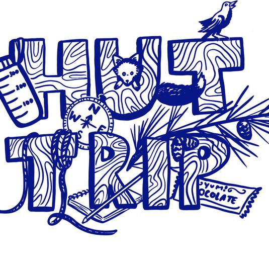 Kids Hut Trip T-shirt Design