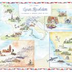 Globetrotting Honeymoon Map