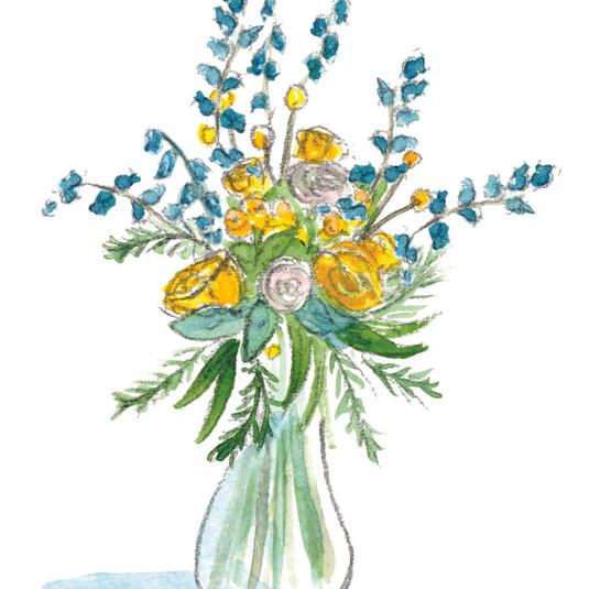 Floral Greetings: English Garden