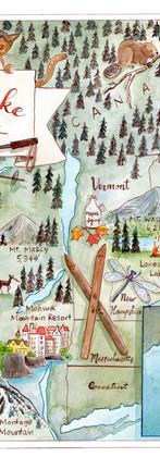 New England Adventure Map
