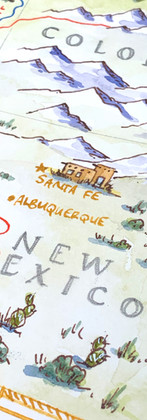 Detail from 50th Anniversary Adventures Map