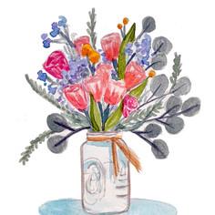 Floral Greetings: Friendship