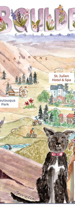 Boulder Wedding Map