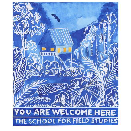 The School for Field Studies Warrawee, Australia. 25th Anniversary T-Shirt Design