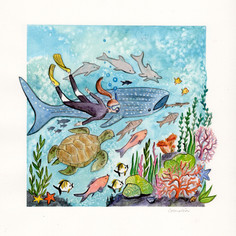 Nursery Triptych: Reef