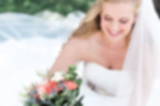 Fort Wayne Bride at Outdoor Wedding Ceremony and Reception