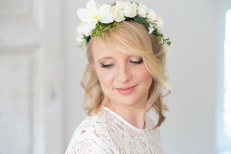 Sehr natürliches Braut-Make-Up
