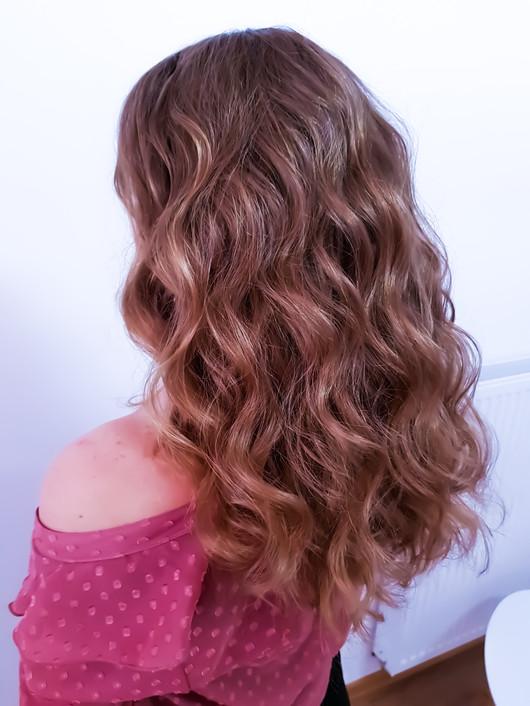 Wellen im Haar