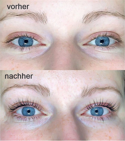 Braut Wimpernlifting