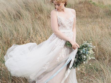 Strand-Bridal-Style Shoot: Hochzeit an der Ostsee