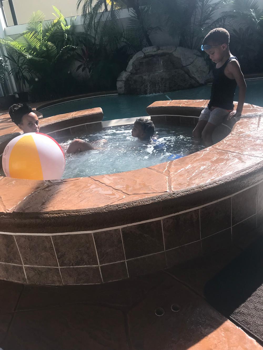 Hot Tub For Children