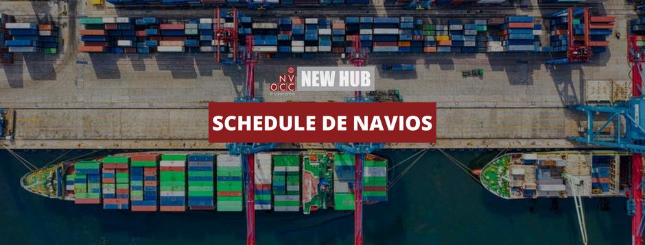 Programação de Navios - Abril 2021