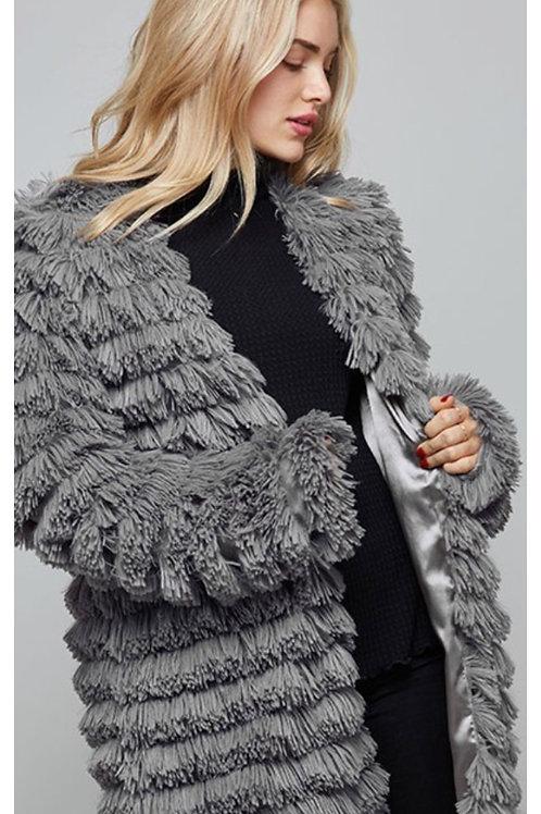 Bundle Up Faux Fur Jacket