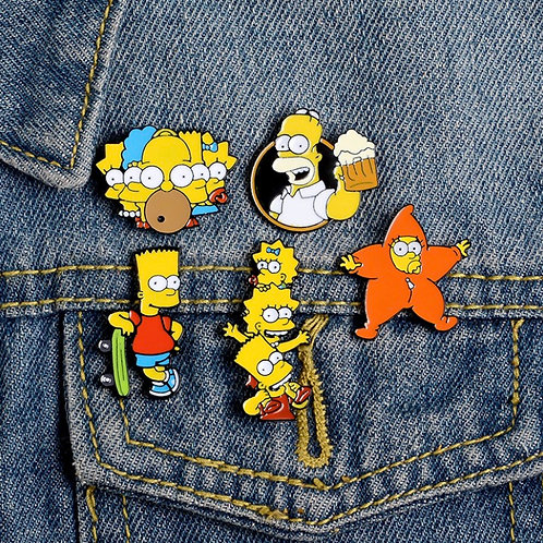 Simpson's Brooch Collection