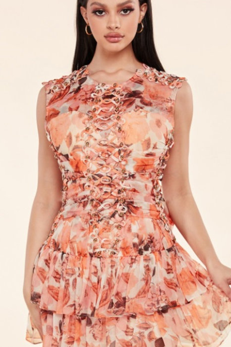 """Dream Land"" Floral Dress"