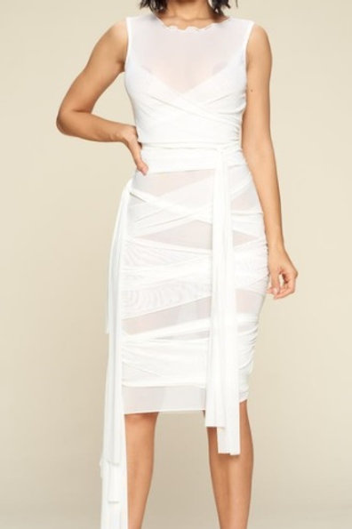 """""""All Tied Up"""" Dress"""