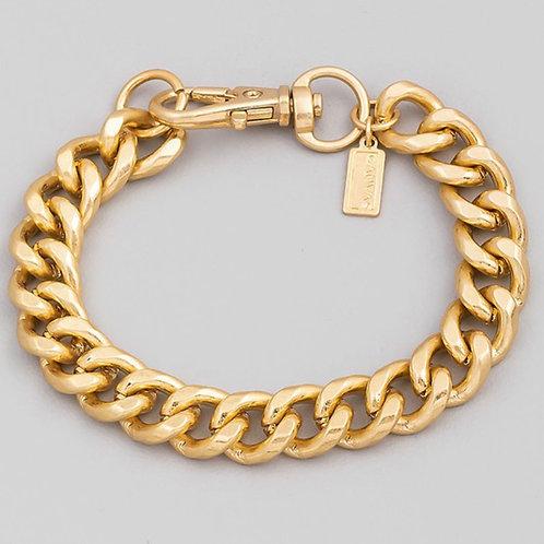 """Geo"" Cuban Link  Bracelet"