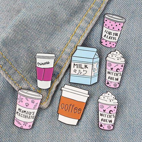 Cafe Brooch Collection