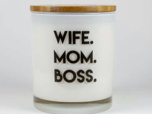 """Boss Up"" Candle"