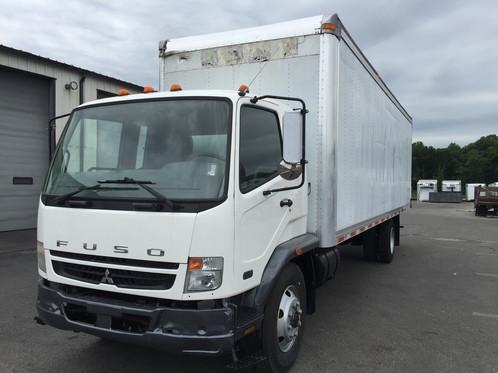 2008 mitsubishi fuso fk260 box truck straight truck for Miranda motors used trucks