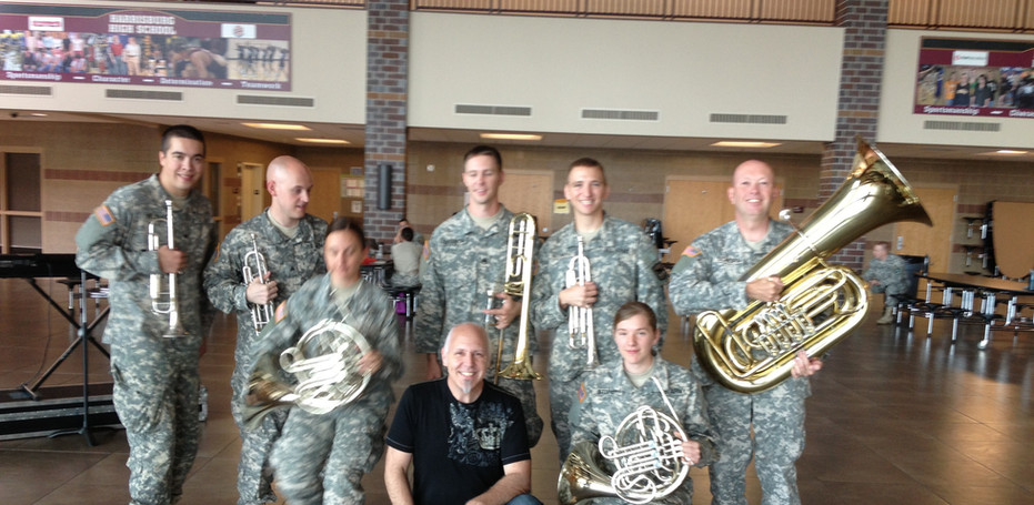 Iowa National Guard Brass Band