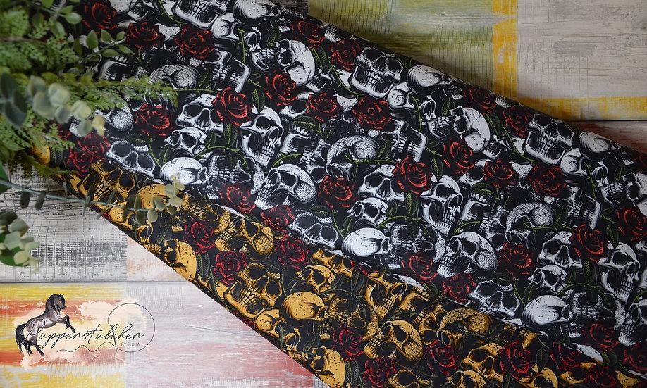 ab 0,5m Skulls with Roses