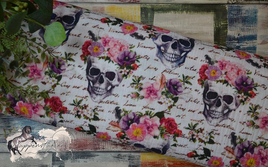 Ab 0.5m Skulls with Flowers