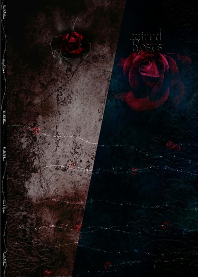 Wired Roses Eigenproduktion 150x200cm French Terry Panel