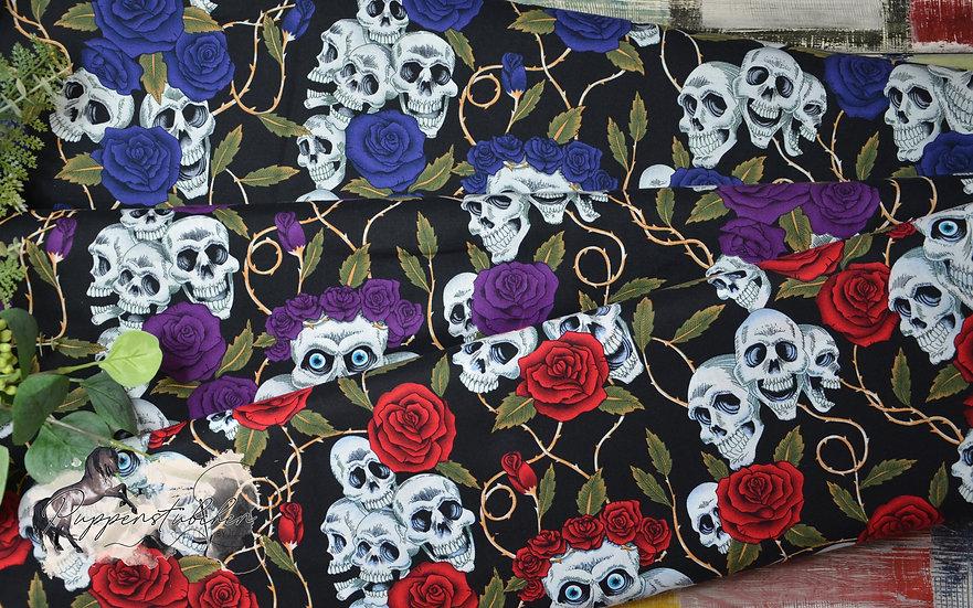 Ab 0.5m Skulls & Roses
