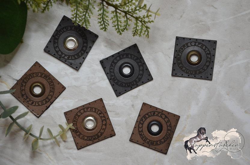 2 Patches Runenkreis Eigenproduktion