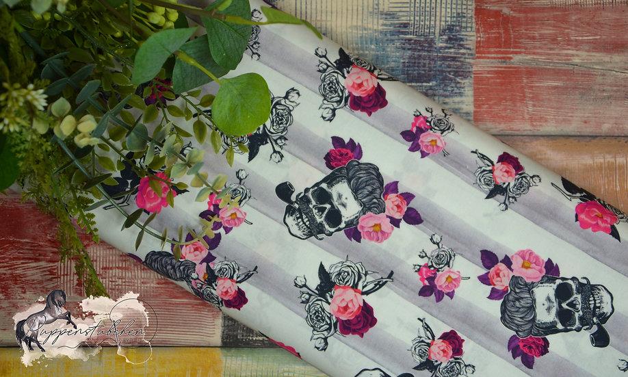 Ab 0.5m Timo Skulls, Flowers & Stripes
