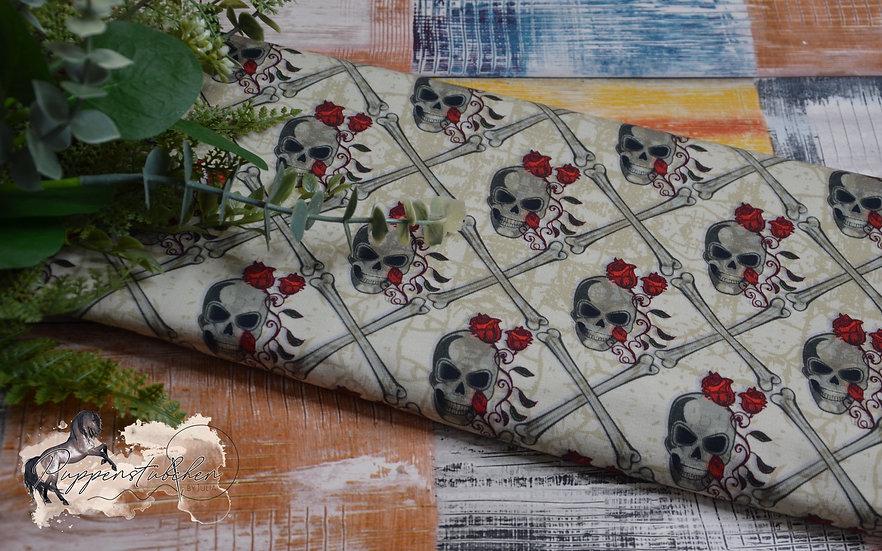 Ab 0.5m Rosie Bones Skulls French Terry Eigenproduktion