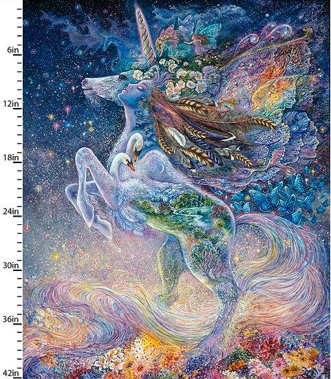 80x112cm Panel Mystic Unicorn