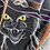Thumbnail: Witch Cat 150x145cm Baumwolljersey PanelEigenproduktion