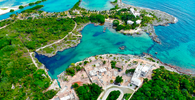 Caletta in Puerto Aventuras