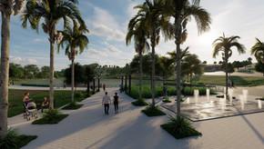 Histórias do Ecozville: Praça da Fonte, um local para contemplar e relaxar