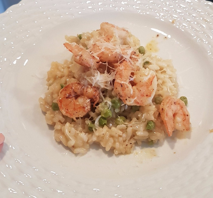 Brown Butter Shrimp Risotto