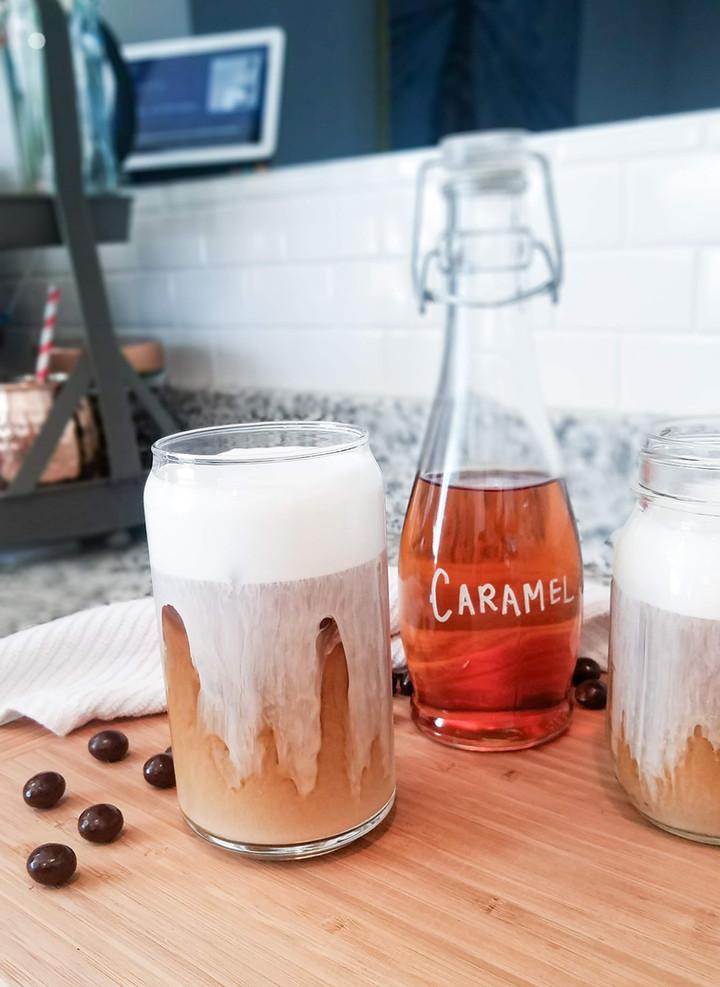 Salted Cream Cold Foam Cold Brew: Starbucks Copycat